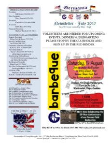 Germania Newsletter July 2017